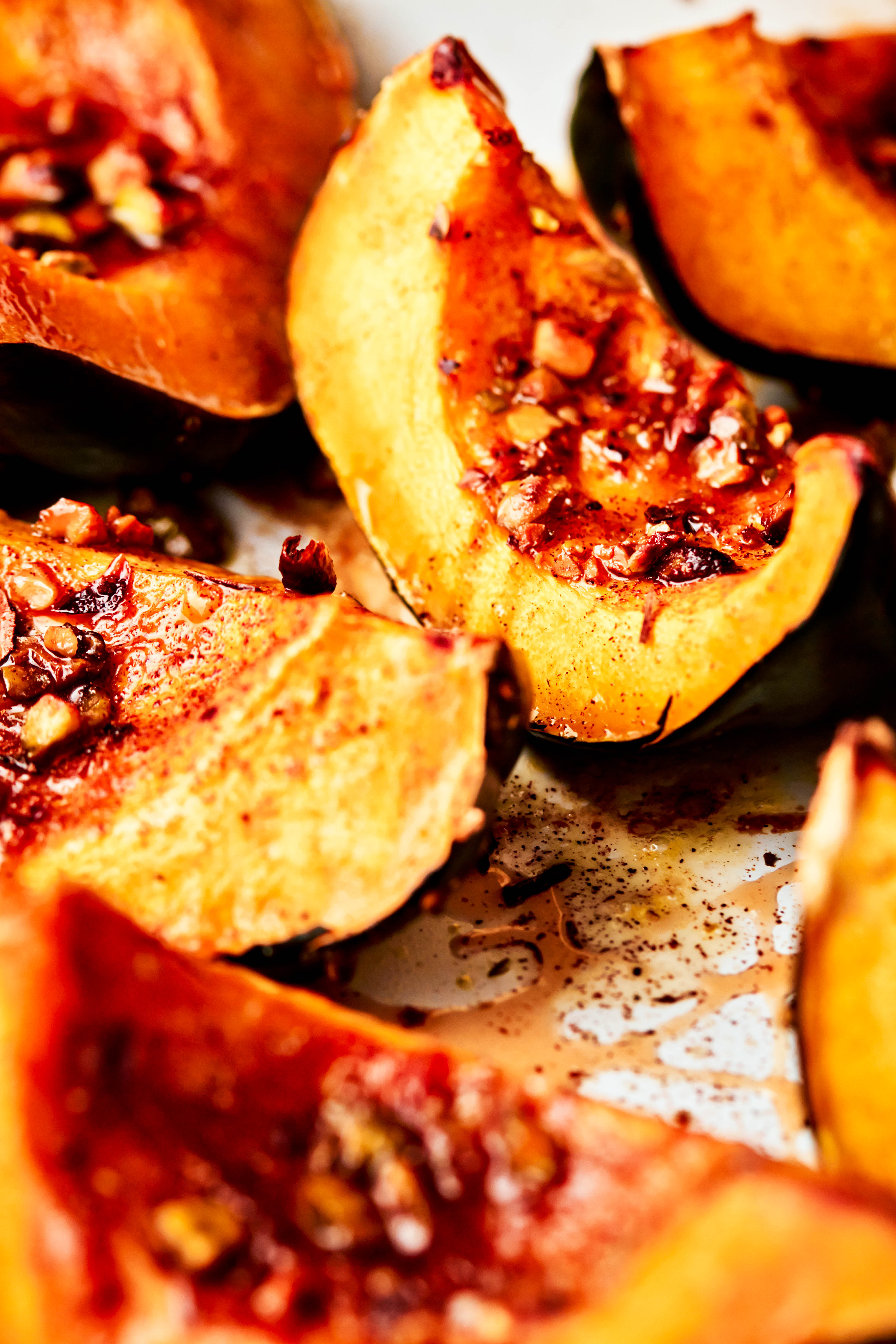 Blue Stallion Farm's roasted acorn squash